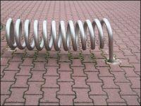 Fahrradständer spirale edelstahl
