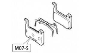 Bremsbeläge Disc M07S (A01-S) XTR / XT / LX (organic)